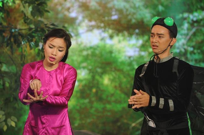 Đấu trường tiếu lâm: Lê Thị Dần xin ra về sau khi trả treo với giám khảo - Ảnh 5.