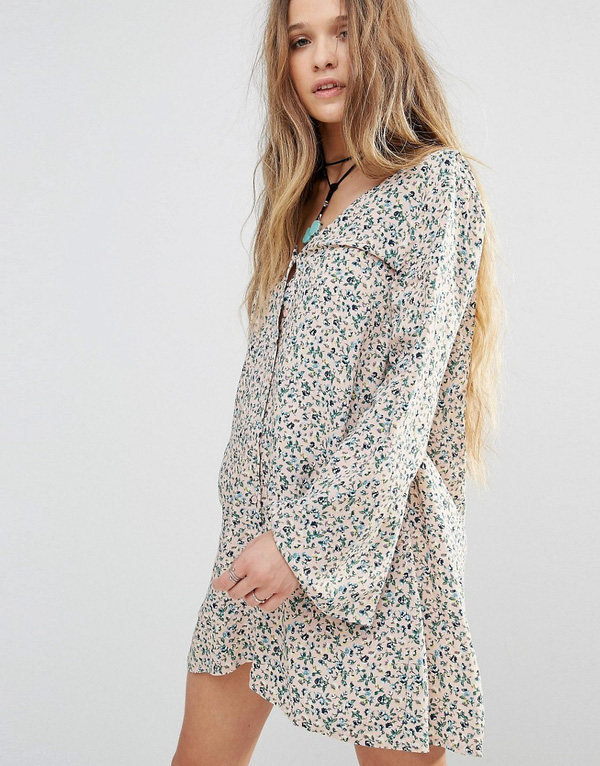 big sleeves dress